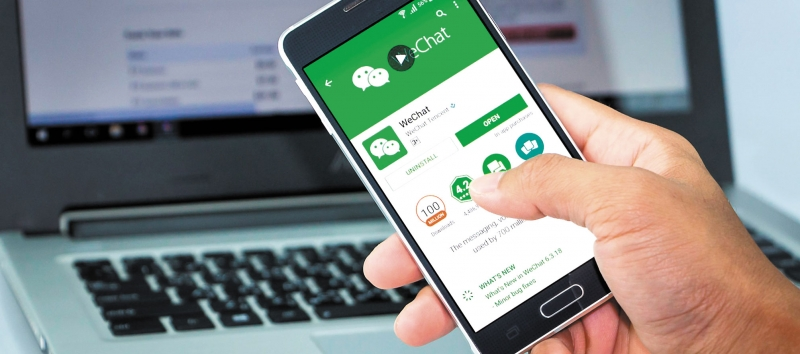Goodbye to credit cards and Whatsapp, hello WeChat